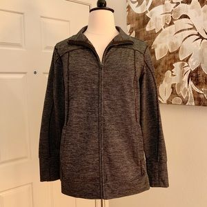 Old Navy Black & Gray Activewear Jacket